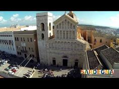 Cagliari _ seen by a drone My Land, Places To Go, San Francesco, Mansions, Santa Maria, House Styles, Video, Youtube, Islands