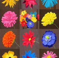 How to make felt flowers