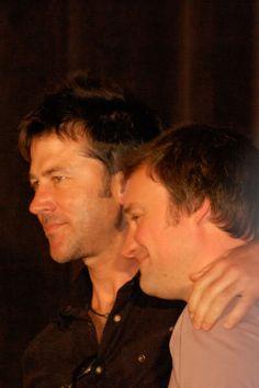 My favorite pair of friends EVER!! David Hewlett and Joe Flanigan of SGA