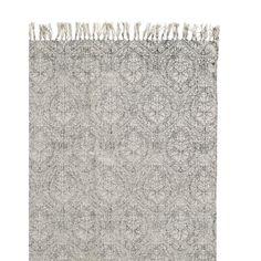 E295,- // Nordal Essence Vloerkleed Zwart/wit - 200 x 250 cm