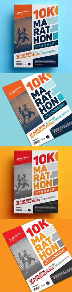 Marathon #Flyer 02 - Sports Events Download here: https://graphicriver.net/item/marathon-flyer-02/19554659?ref=alena994