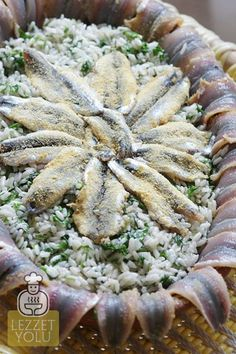 Hamsili Pilav yapımı