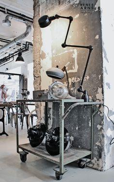 Industrial interior decoration