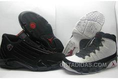 795c6b83bc6ba3 Air Jordan 9 And 14 Countdown Pack White Black Lastest