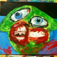 #gregggriffin #painting #art #pop #juxtapoz#picasso#neckface#modern#goth#gregg#griffin