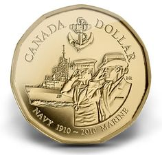 Canadian Coin Collection: 2010 - Canadian Naval Centennial