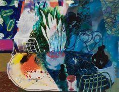 Attendants, 2015 - Angelina Gualdoni (b. 1975)  oil and acrylic on canvas