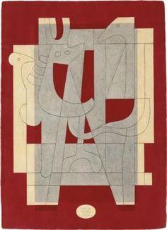 "topcat77: "" 'Diálogo Silente', 1966) Carlos Mérida b.1891, Guatemalan artist & printmaker """