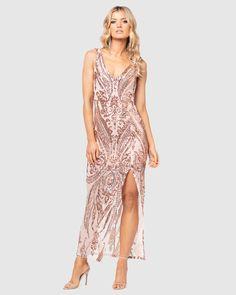 Formal Dresses Online, Buy Dresses Online, Formal Gowns, Formal Wear, Pilgrim Clothing, Australian Fashion Designers, Dresses Online Australia, Fitted Bodice, Bridesmaid Dresses