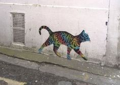 A rainbow 'tag cat' by street artist JPS has been spotted in West Pallant. The new work comes only a few months after 'The Big Deal' which shows children swapping bank notes... Read Article →
