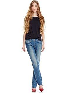Levi'S Strauss Jeans Slight Curve Straight (Blu Chiaro)