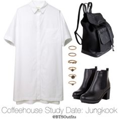 Coffeehouse Study Date: Jungkook