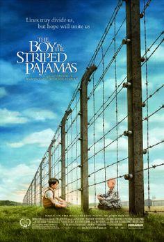 El niño con el pijama de rayas es un drama del 2006 del autor irlandés John Boyne, dirigida por Mark Herman y protagonizada por Vera Farmiga, David Thewlis, Rupert Friend, Asa Butterfield y Jack Scanlon.