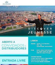 ENERGIA POSITIVA  ENERGIA PRODUTIVA = SUCESSO Steve & Gina Merritt HOJE EM Lisboa -Portugal!!!!! Evento de apresentação de uma grande oportunidade na vida de muitas pessoas em Portugal com um dos Tops mundiais. NÃO PERCAM Ainda temos vagas? FORÇA LISBOA  Para mais informações contacte-me por: URL: http://ift.tt/1U7UqoC informações:rejuvenescimentoportugal@gmail.com Facebook: /rejuvenescimentoportugal WhatsApp: (00351) 962 323 703 Skype: spitfire_pt2006