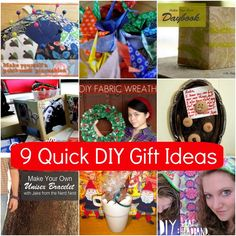 9 Quick DIY Gift Ideas - Campfire Chic
