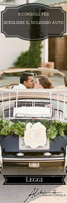 Noleggio auto per il matrimonio: consigli per scegliere il migliore car rental for wedding: tips to choose the best