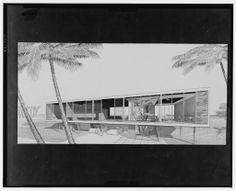 Walker guest house, Sanibel Island, Florida, 1952, Paul Rudolph