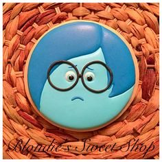 Inside Out - Sadness   Cookie Connection