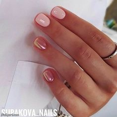 Best Nail Designs for Short Nails #DIYNailDesigns