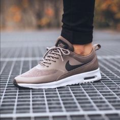Nike air max Thea dark storm/ iron grey 7.5. ADDITIONAL PICTURES.  Brand new in box, the run small so order 1/2 size up. This would fit a 7 great.  On 〽️ercari for $165. I have receipt to prove Authenticity. Sold out in stores and online. SELLING ONLY--NO TRADES- thanks  Nike Shoes Sneakers