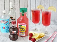 This looks like it would be a beautiful and delcious thirt quencher. Sparkling Party Punch - Glorious Treats