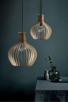 Nordlux Groa 40 Wood Ceiling Pendant Light Nordlux Groa 40 is a beautifully made, slatted wooden ceiling pendant light. As light passes through to the curve Globe Pendant Light, Wood Pendant Light, Ceiling Pendant, Pendant Lamp, Pendant Lights, Room Lights, Hanging Lights, Ceiling Lights, Wooden Lampshade