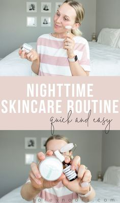 my super easy nighttime skincare routine for the best glowing skin. - Beauty is Art Morning Beauty Routine, Skin Care Routine For 20s, Beauty Routines, Skincare Routine, Skin Routine, Night Routine, Skin Care Regimen, Skin Care Tips, Skin Problems
