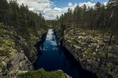 Hiidenportti Sotkamossa Travel Inspiration, River, Health, Places, Nature, Outdoor, Outdoors, Salud, Health Care