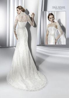Raul Novias 2013 Bridal Collection via fashionbride.