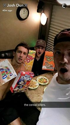 What inspires you to write songs?? Tyler: Cereal XD