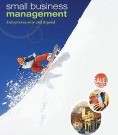 Small Business Management: Entrepreneurship And Beyond PDF