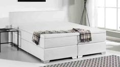 White Box Spring Cover Solid Wood Platform Bed, Platform Bed With Storage, Queen Platform Bed, Platform Bed Frame, Upholstered Platform Bed, Bed Springs, Mattress Springs, Bedroom Furniture Stores, Furniture Deals