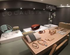 Localista is a temporary design shop installation featuring twenty five designers at the Condado Vanderbilt Hotel in PR. Puerto Rico, Rico Design, Minimalist Decor, Four Square, Restaurant, Design Shop, Interior, Objects, Designers