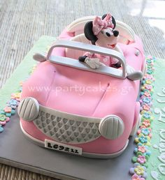 Minnie Mouse Car Cake | Flickr - Photo Sharing!