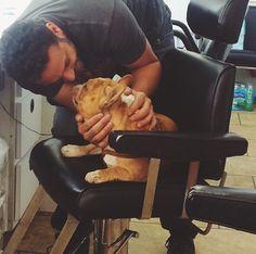Daniel and Serinda's dog