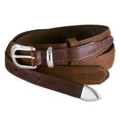 Made in USA, Made in America.  Mens Leather Ranger Belts - Ranger Belt -- Orvis on Orvis.com!