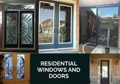 Aetna Glass & Mirror offers window glass repair experts who will help you by replacing the broken mirror with quality glasses. We provide glass repairing service at a reasonable price in Mississauga, Canada. For our services call us`: Window Glass Repair, Residential Windows, Broken Mirror, Windows And Doors, Canada, Glasses, Eyewear, Eyeglasses, Eye Glasses
