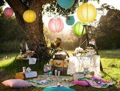 Picnic Chic - Fiestas de cumple para niños - Charhadas.com