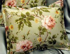 """Ralph Lauren YORKSHIRE ROSE FLORAL 12"""" x 16"""" /1 BOUDOIR Pillow SHAM CUSTOM #RalphLauren #FLORAL"""