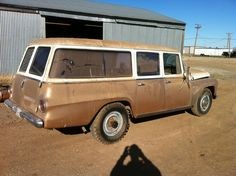 This is interesting because it shows a two tone paint job with chrome trim and cargo doors.