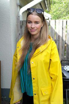 35 Raincoat Jacket, Pvc Raincoat, Rain Jacket, Yellow Coat, Yellow Raincoat, Girls Wear, Women Wear, Rain Bonnet, Rain Fashion