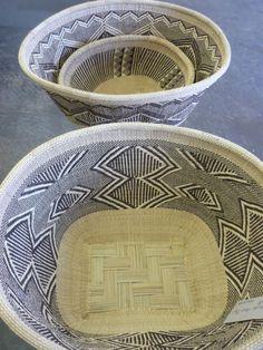 African basket, Hwange, Zimbabwe, Southern Africa. Collected by Design Afrika | http://www.designafrika.co.za | |afrikani.tumblr.com