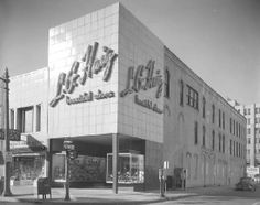 South-West Corner of 1st St and Saginaw St (1950's)