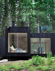 Black cedar vertical