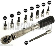 BIKEHAND Bicycle Bike Torque Wrench Allen Key Tool Socket Set Kit ** To view further for this item, visit the image link. Park Tool, Bike Tools, Torque Wrench, Power Hand Tools, Bicycle Maintenance, Wrench Set, Wrench Tool, Bicycle Parts, Socket Set