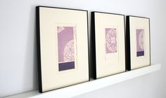 A knock out collection of antique woodblock prints - weave designs, c. 1901.. www.thebluetwig.com