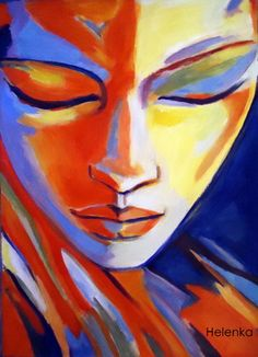 "Saatchi Online Artist Helena Wierzbicki; Painting, """"Concealed desires"""" #art"