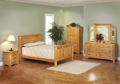 Journey's End Collection – Panel Bed Suite