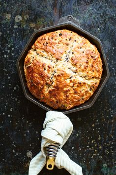 So far in 2016, I've been all aboutmaking bread at home. It's so simple and so gratifying. First up, I'm sharing this Skillet Soda Bread recipe, and in several weeks, I'm posting a recipe for the BEST overnight, no-knead bread. YUM!!! Soda bread, Irish or otherwise, is a perfect introduction to home bread-making, because minimalRead More »