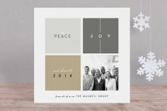 Building Blocks Business Holiday Cards by fatfatin at minted.com